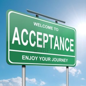 acceptance-road-sign